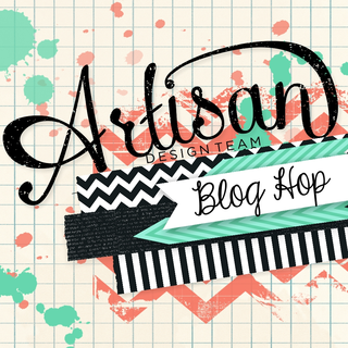 Artisan Blog Hop Button 13-011