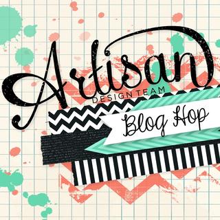Artisan Blog Hop Button 13-011