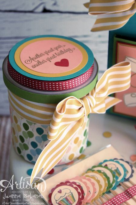 Another Great Year Cake Frosting Jeanna Bohanon Stampin Up Artisan