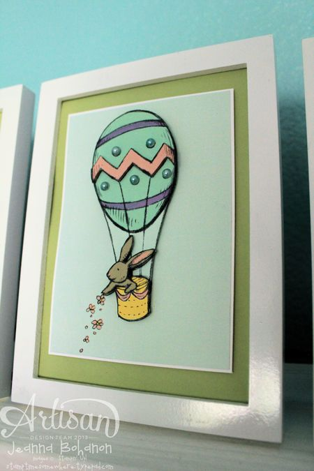 Everything Easter MDS Home Decor Jeanna Bohanon Stampin' Up! Artisan Design Team 6