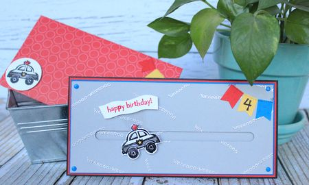 You're my Hero Spinner card Stampin' Up! Jeanna Bohanon