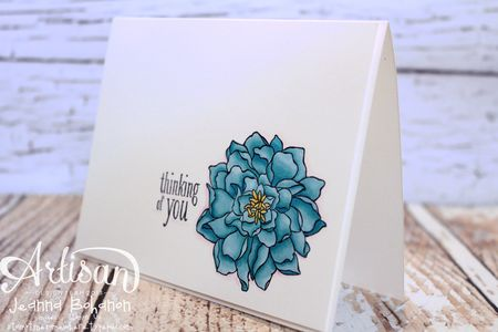 Peaceful Petals cards Stampin' Up 3 Jeanna Bohanon