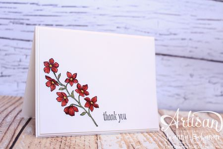 Peaceful Petals cards Stampin' Up 4 Jeanna Bohanon