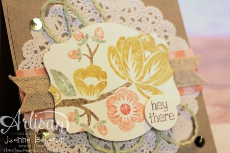 Hey There Buds 1 Stampin' Up! card by Jeanna Bohanon