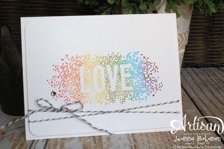Rainbow Love Seasonally Scattered 1 Jeanna Bohanon Convention 2014