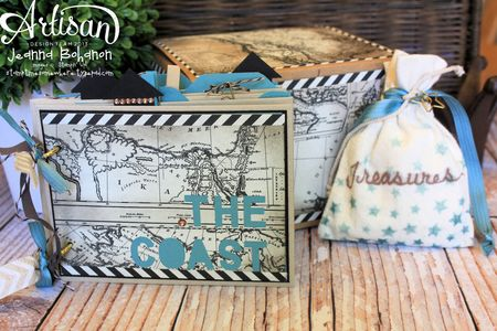 The Coast Ensemble - Jeanna Bohanon 2013 Stampin' Up! Artisan Design Team