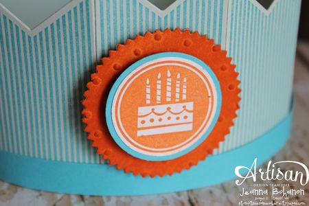 Amazing Birthday Crown Jeanna Bohanon Stampin' Up! Convention 2014 Display Board 2