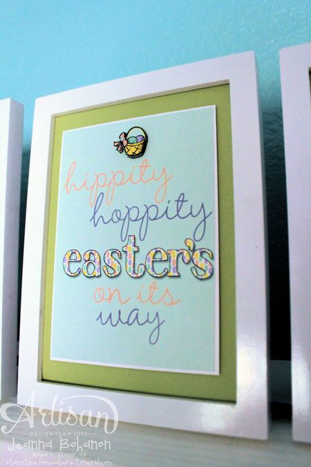 Everything Easter MDS Home Decor Jeanna Bohanon Stampin' Up! Artisan Design Team 5