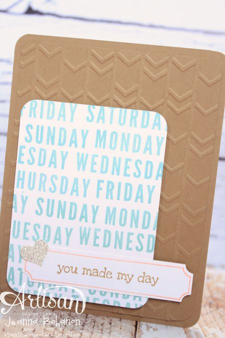 Project Life® by Stampin' Up!® card by Jeanna Bohanon 1