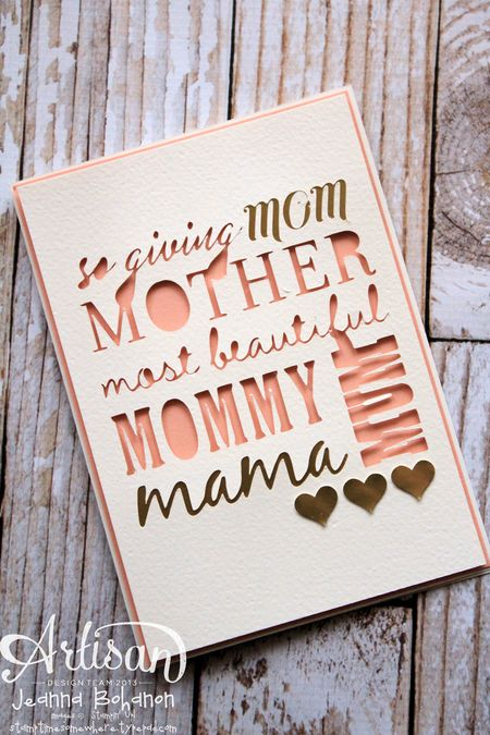 MadeForMom Mom's the Bomb Stampin' Up! MDS Hop Mothers Day Card 1 Jeanna Bohanon