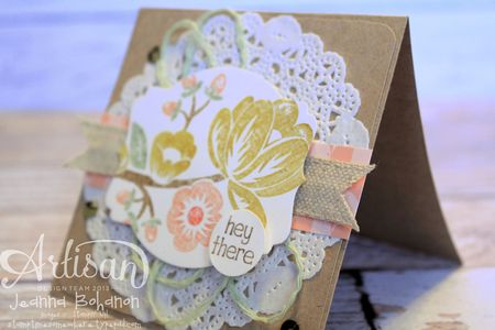 Hey There Buds 3 Stampin' Up! card by Jeanna Bohanon