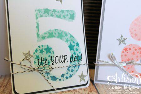 July 2013 Stampin Up! Artisan Jeanna Bohanon 2