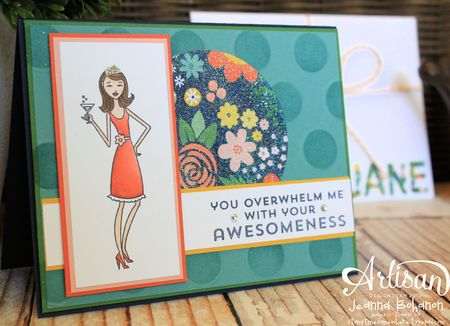 In This Together July 2013 Stampin' Up! Artisan Design Team card Jeanna Bohanon