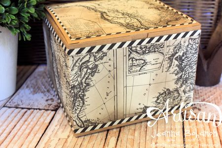 The Coast Ensemble - box Jeanna Bohanon 2013 Stampin' Up! Artisan Design Team