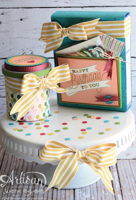 Another Great Year Cake Ensemble Jeanna Bohanon Stampin Up Artisan
