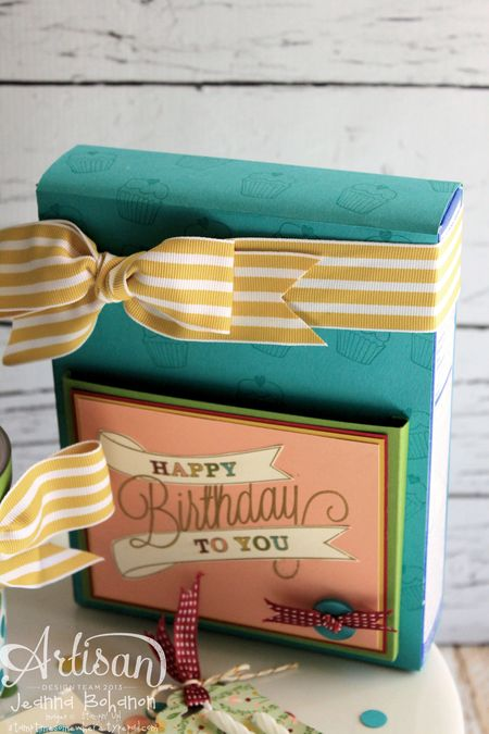 Another Great Year Cake Main Cake Box Jeanna Bohanon Stampin Up Artisan