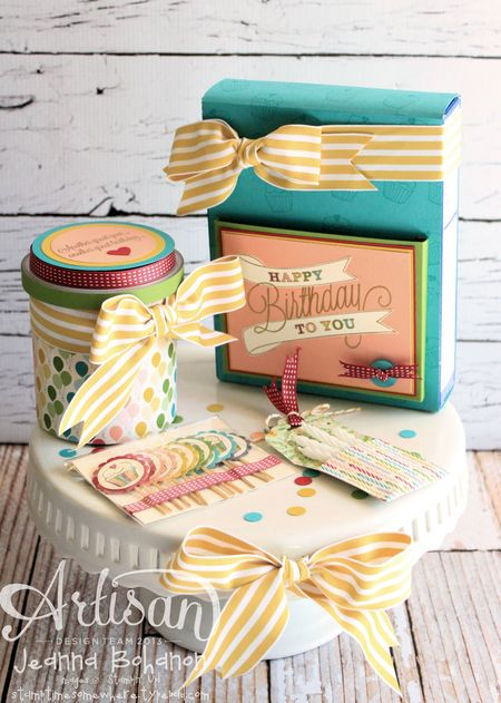 Another Great Year Cake full ensemble Jeanna Bohanon Stampin Up Artisan