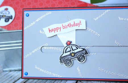 You're my Hero Spinner card close up 1 Stampin' Up! Jeanna Bohanon