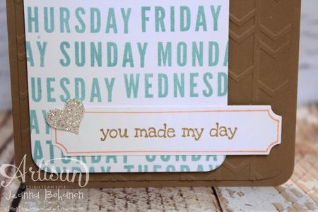 Project Life® by Stampin' Up!® card by Jeanna Bohanon 2