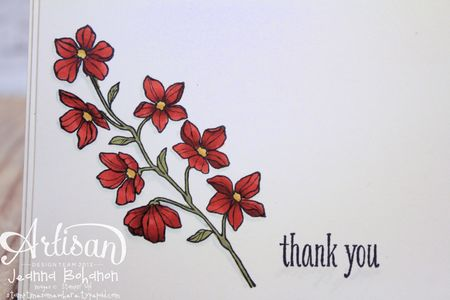 Peaceful Petals cards Stampin' Up 5 Jeanna Bohanon