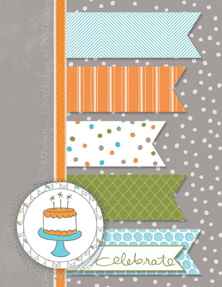 Endless Birthday Wishes Stampin' Up! Jeanna Bohanon MDSM60