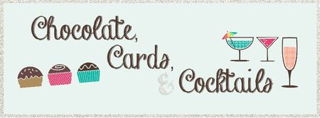 Chocolate Cards and Cocktails Facebook Cover Jeanna Bohanon