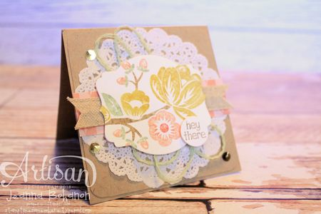 Hey There Buds 2 Stampin' Up! card by Jeanna Bohanon