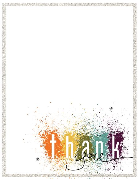 MDS thank you card in color by Jeanna Bohanon FabFriday44