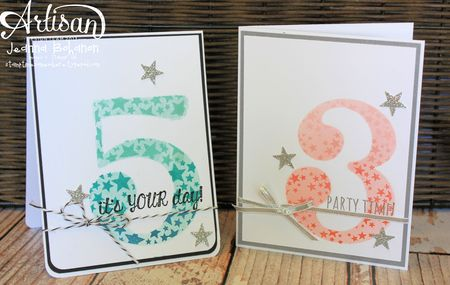 July 2013 Stampin Up! Artisan Jeanna Bohanon