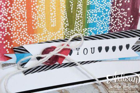 Rainbow Love Seasonally Scattered 2 close Jeanna Bohanon Convention 2014