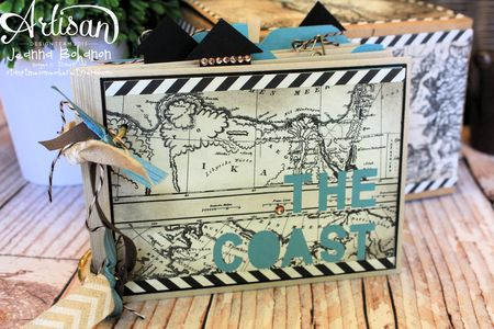 The Coast Ensemble - album Jeanna Bohanon 2013 Stampin' Up! Artisan Design Team