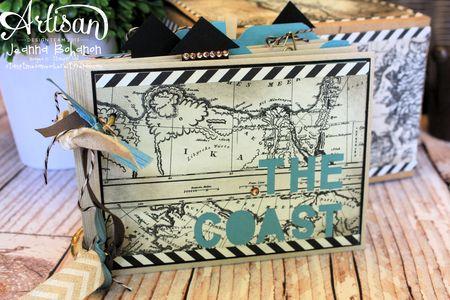 The Coast Ensemble - album Jeanna Bohanon 2013 Stampin' Up! Artisan Design Team