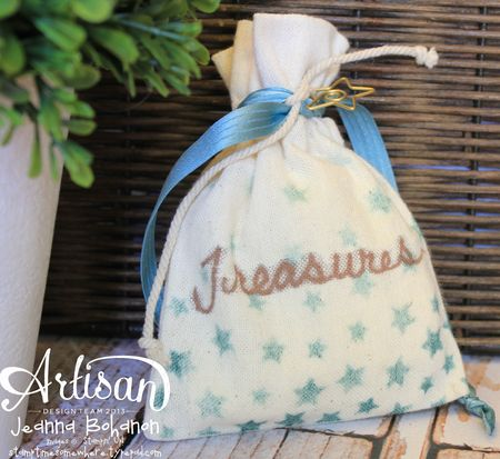 The Coast Ensemble - bagJeanna Bohanon 2013 Stampin' Up! Artisan Design Team