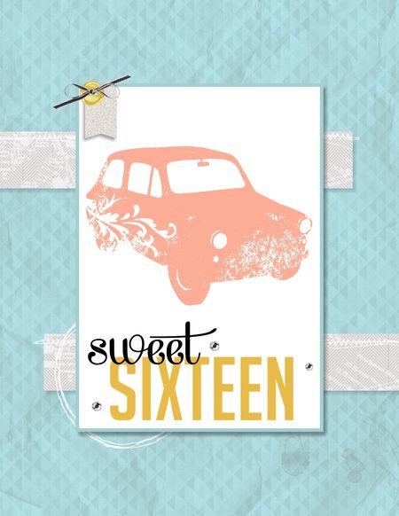 Travel Journal Sweet Sixteen card Jeanna Bohanon Stampin Up MDS Blog Hop