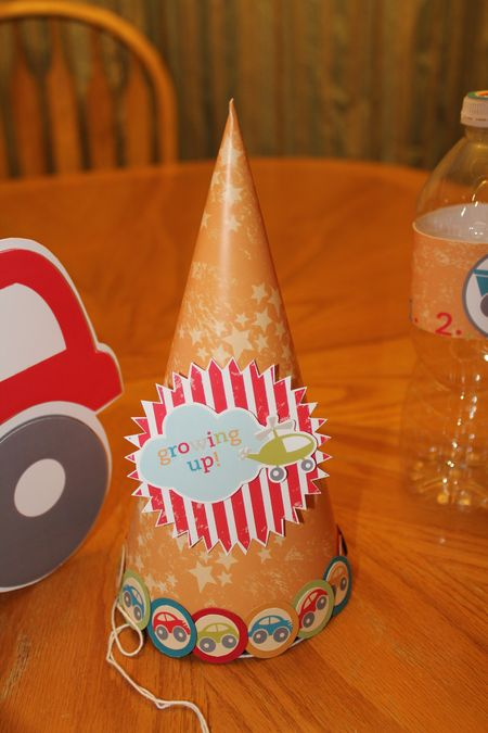 On the Go party ensemble party hat MDS Jeanna Bohanon Stamp Time Somewhere