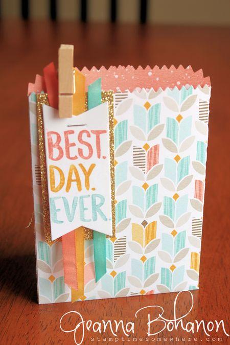 Best Day Ever Treat Bag Sale A Brate 2015 Jeanna Bohanon