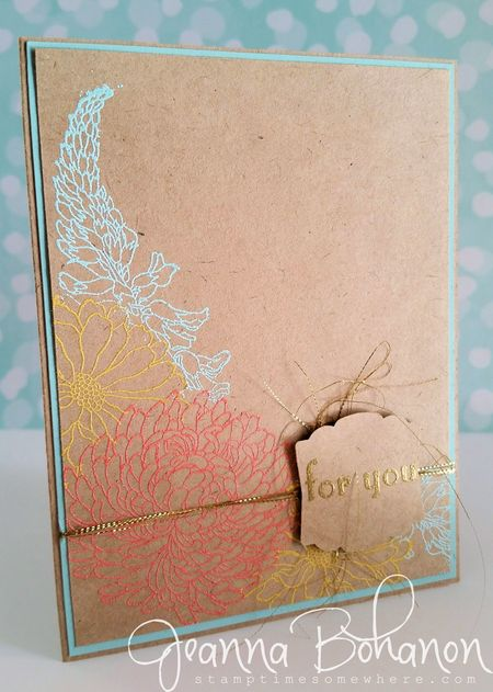 #TGIFC01 Forever Florals Stampin Up by Jeanna Bohanon
