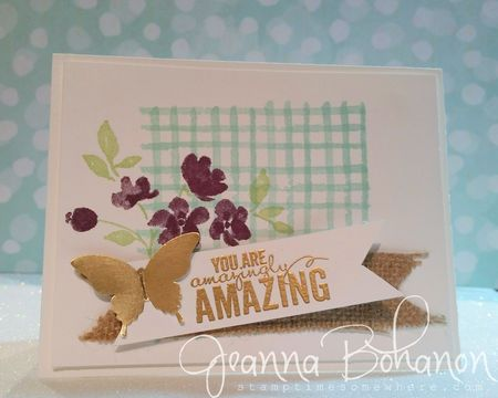 Painted Petals Stampin Up We Create Jeanna Bohanon