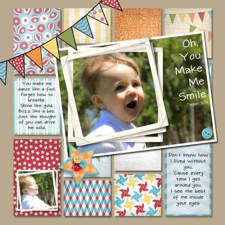 Jeanna Bohanon MDS Monday Stampin Up Big Top Birthday MDS Contest