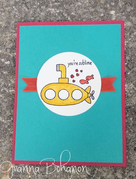 You're Sublime Stampin' Up! WCBH 2 Jeanna Bohanon