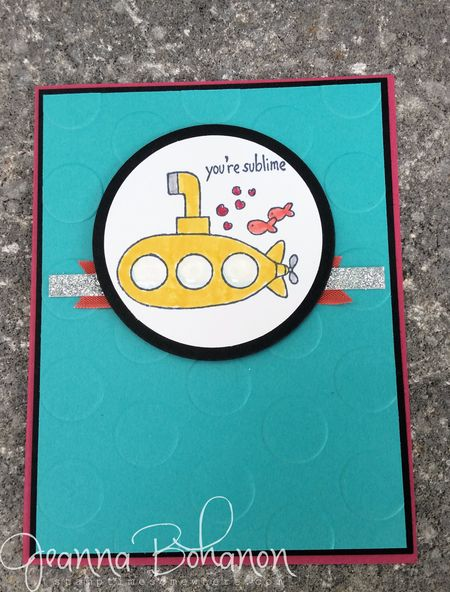 You're Sublime Stampin' Up! WCBH 3 Jeanna Bohanon