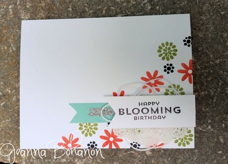 Flower Patch Stampin Up #tGIFC throwdown Jeanna Bohanon