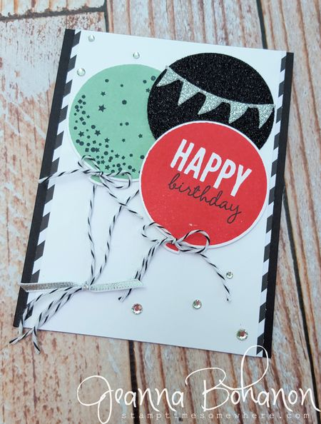 #TGIFC19 Color Combo Stampin' Up! Jeanna Bohanon