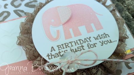 #TGIFC20 card sketch detail Stampin' Up! by Jeanna Bohanon