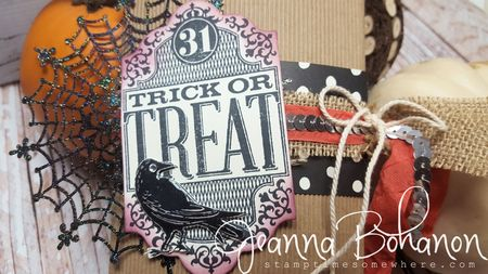 OSAT Oct 15 Fall and Halloween Stampin' Up! Jeanna Bohanon 2
