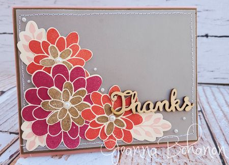 #tgifc25 Flower Patch Inspiration Jeanna Bohanon Stampin' Up!