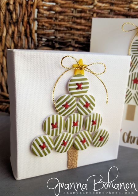 OSAT Blog Hop Stampin' Up! Christmas decor and card Jeanna Bohanon 2