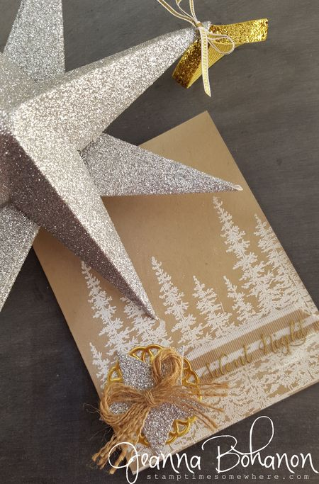 #TGIFC30 White Christmas Stampin' Up! Jeanna Bohanon 1