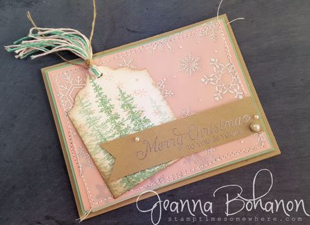 Fancy Friday Stampin Up Christmas Wonderland Jeanna Bohanon 1