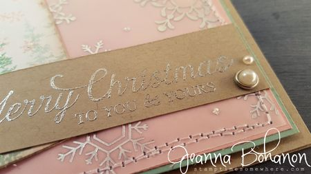 Fancy Friday Stampin Up Christmas Wonderland Jeanna Bohanon 3
